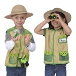 Melissa and Doug Backyard Explorer dress up set costume