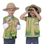 Melissa and Doug Backyard Explorer dress up set costume