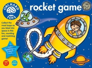 Orchard toys space game rockets