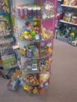 selection of traditional and new pocket money toys