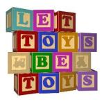 let toys be toys logo no girls toys no boys toys