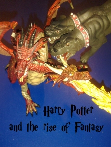 Harry Potter dragon cerberus three headed dog