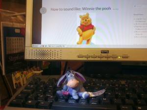 eyore donkey winnie the pooh voice disney