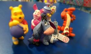 eeyore winnie the pooh piglet tigget rabbit toy figures