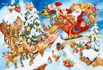 gibsons spot the sillies crazy chirstmas 100 piece 5 years and up2