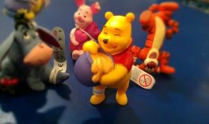 winnie the pooh tigger eeyore piglet rabbit toys