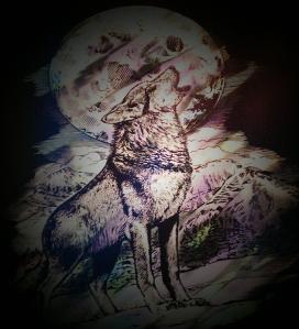 lone wolf foil art fun junction