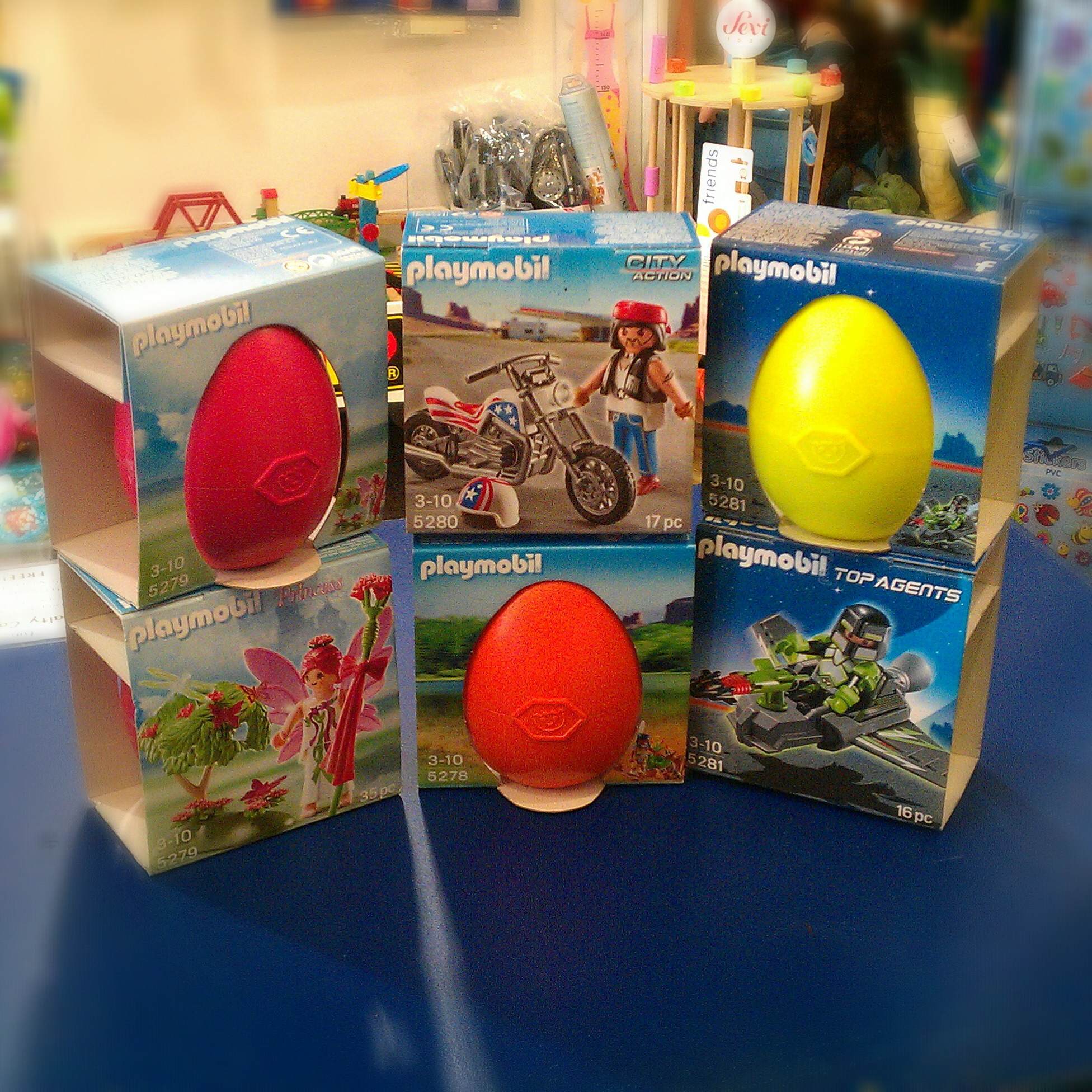 Top 5 chocolate free gifts for easter john the toy shop guy playmobil easter eggs 2014 negle Image collections