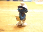 schleich accountant smurf figurine