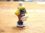 schleich smurfette manager figure figurine