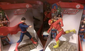 superman and the flash duke it out